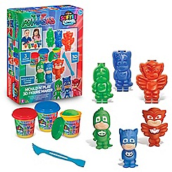 PJ Masks - Mould n play 3D figure maker