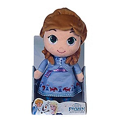 Disney Frozen - 10-inch Olaf's Adventure Anna doll soft toy