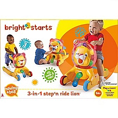 Bright Starts - 3-in-1 Step 'n Ride Lion™
