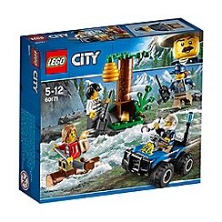 LEGO - 'City Police Mountain Fugitives' set - 60171