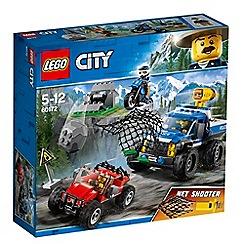 LEGO - 'City Police Dirt Road Pursuit' set - 60172