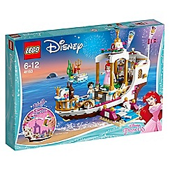 LEGO - 'Disney Princess Ariel's Royal Celebration Boat' set - 41153