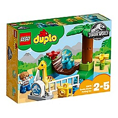 LEGO - 'Duplo - Jurassic World Gentle Giants Petting Zoo' set - 10879