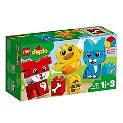 LEGO - Duplo My First Puzzle Pets set - 10858
