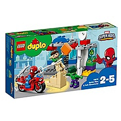 LEGO - 'DUPLO Super Heroes Spider-Man and Hulk Adventure' set - 10876