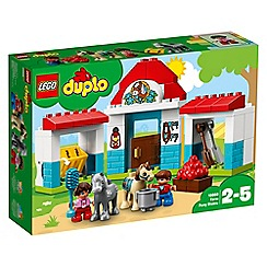 LEGO - 'DUPLO Farm Pony Stable' set - 10868
