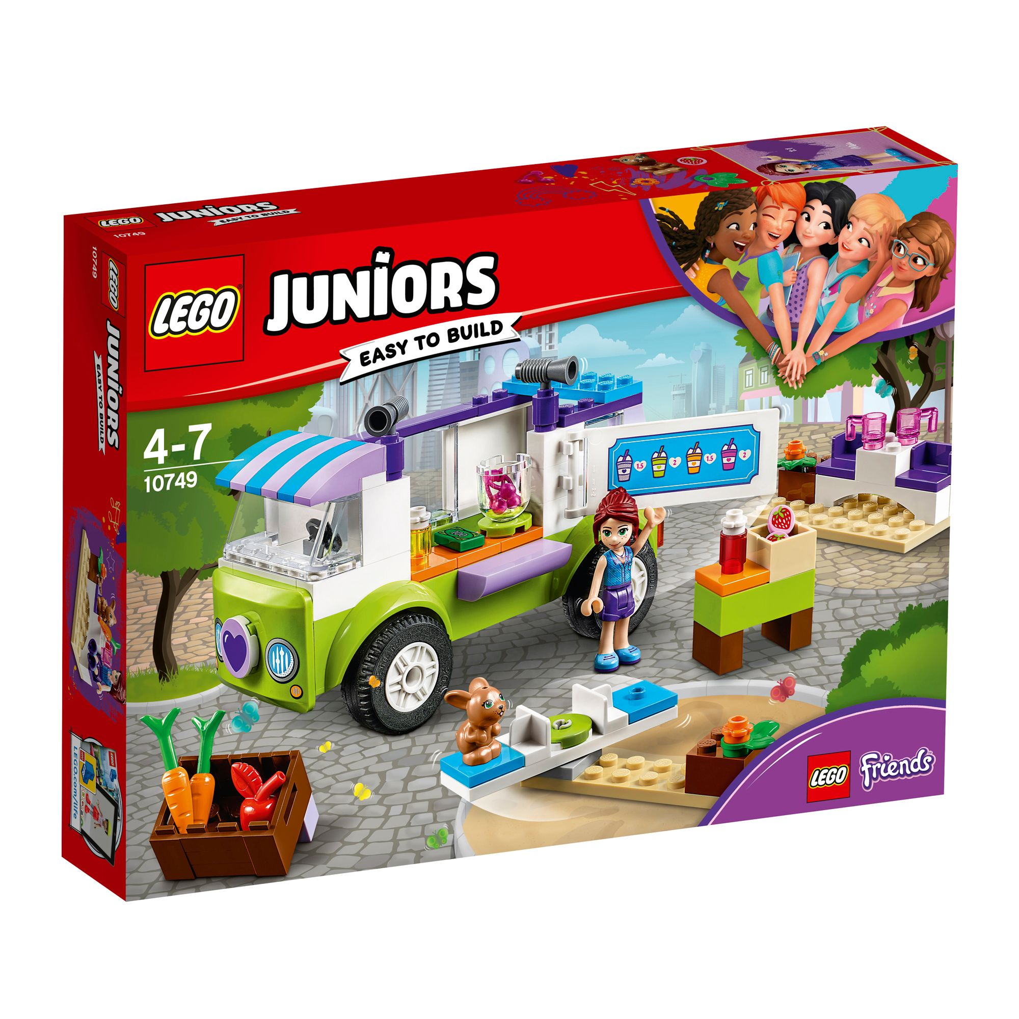 Lego Juniors Friends Mias Organic Food Market Set 10749