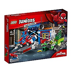 LEGO - 'Juniors Super Heroes Spiderman vs Scorpion Street Showdown' set - 10754