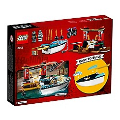 LEGO - 'Juniors Ninjago Zane's Ninja Boat Pursuit' set - 10755