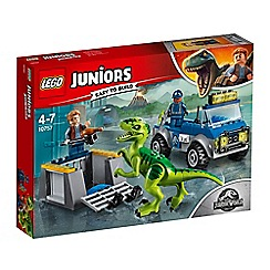 LEGO - 'Juniors - Jurassic World Raptor Rescue' set - 10757