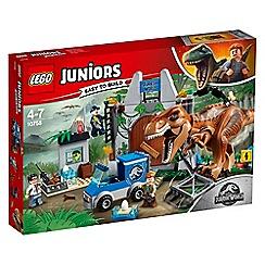 LEGO - 'Juniors - Jurassic World T.Rex Breakout' set - 10758