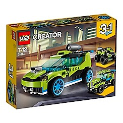 LEGO - 'Creator Vehicles Rocket Rally Car' set - 31074
