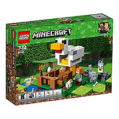 LEGO - 'Minecraft - The Chicken Coop' set - 21140