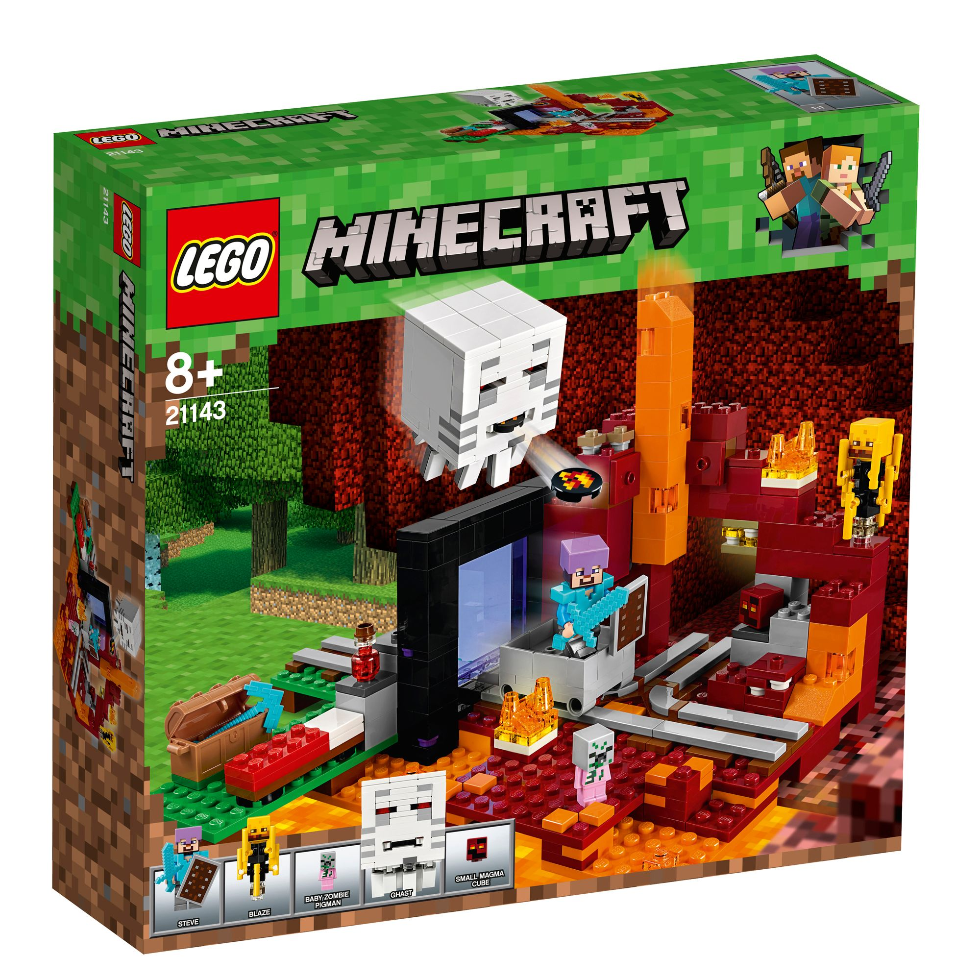 Lego Kids Minecraft The Farm Cottage Set 21143 5702016109610