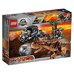 LEGO - 'Jurassic World - Carnotaurus Gyrosphere Escape' set - 75929