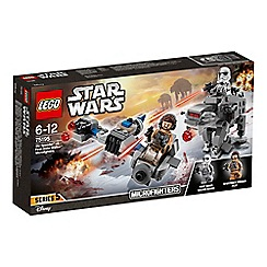 LEGO - 'Episode VIII Ski Speeder  vs. First Order Walker  Microfighters - 75195