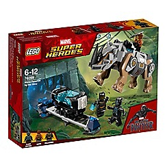 LEGO - 'Marvel Black Panther Rhino Face-Off by the Mine' set - 76099