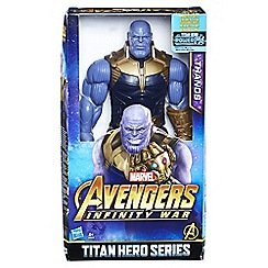 The Avengers - 'Titan Hero Series - Thanos' figure with FX port