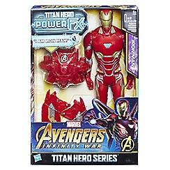 The Avengers - 'Titan Hero Power FX - Iron Man' figure