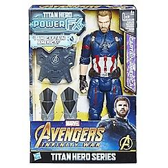 The Avengers - 'Titan Hero Power FX - Captain America' figure