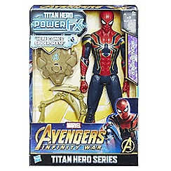 The Avengers - 'Titan Hero Power FX - Iron Spider' figure