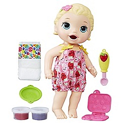 Baby Alive - 'Super Snacks Snackin' Lily Blonde Baby' doll playset