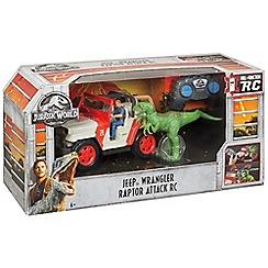 Jurassic World - 'JeepË Wrangler - Raptor Attack' remote controlled vehicle set