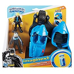 Imaginext - DC Super Friends - Nightwing™  and Transforming Cycle' playset