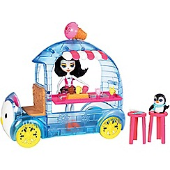 Enchantimals - Wheel frozen treats™ Preena Penguin™ doll playset