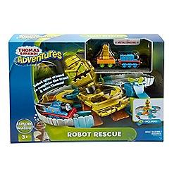 Mattel - 'Adventures' robot rescue playset