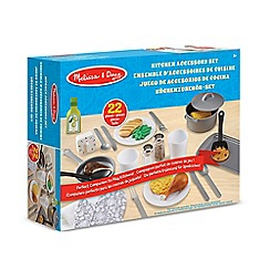 Melissa & Doug - 22 piece kitchen accessory playset