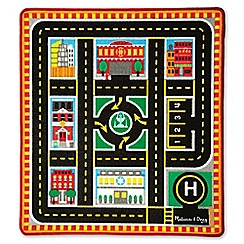 Melissa & Doug - 'Around the City' rescue rug and vehicle set