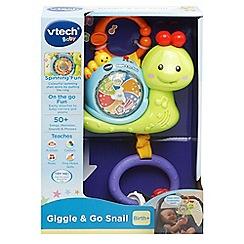 Vtech - Giggle and go snail toy