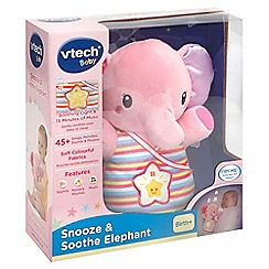 Vtech - Pink snooze and soothe elephant toy