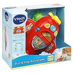 Vtech - Pull and pop aeroplane toy