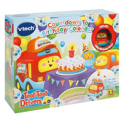 Vtech Toot Drivers Countdown To Birthday Calendar Playset