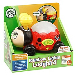 LeapFrog - Rainbow lights ladybird toy