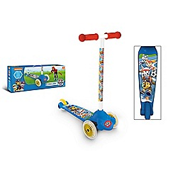 Paw Patrol - Twist and roll scooter