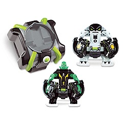 Ben 10 - 'Ben 10 - Diamondhead and Cannonbolt' battle figures