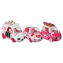 Shopkins - Set of 3 'Pretty Performers - Cutie Cars' collection