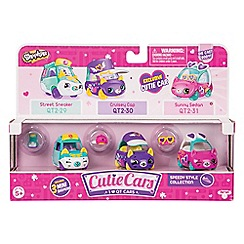 Shopkins - Set of 3 'Speedy Style - Cutie Cars' collection