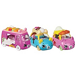 Shopkins - Set of 3 'Dessert Drivers - Cutie Cars' collection