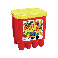 Stickle Bricks - 'Fun Tub' construction toy