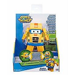 Super Wings - 'Poppa Wheel' transforming toy