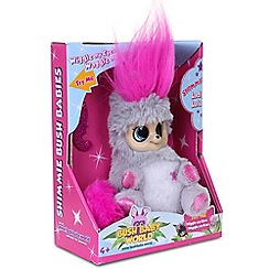 Bush Baby World - 'Shimmies - Lady Lulu' pink soft toy set