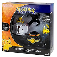 Pokemon - Ultimate throw and pop poke ball battle set