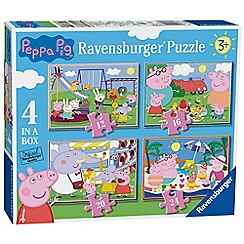 Ravensburger - 'Peppa Pig' 4 in a box jigsaw puzzles