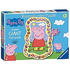 Ravensburger - 'Peppa Pig' 24 piece giant shaped jigsaw puzzle