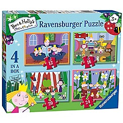 Ravensburger - 'Ben and Holly's Little Kingdom'  4 in a box jigsaw puzzles