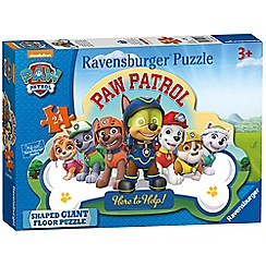 Ravensburger - 'Paw Patrol' 24 piece giant shaped jigsaw puzzle